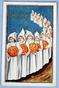 Early Vintage Halloween Post Card
