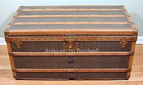 Antique Goyard Steamer Trunk