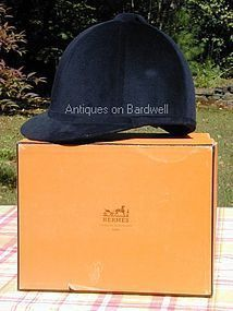 Hermes Equestrian Riding Helmet with Box