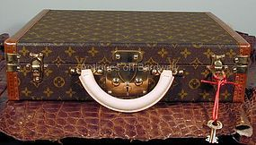 Louis Vuitton President Briefcase in Monogram Canvas