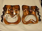 Rebajes Copper Comedy/Tragedy Face Masks