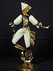 A.VE.M. Signed Murano Figurine of a Dancer