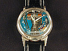 14KT GOLD Accutron Spaceview