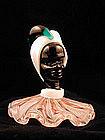 Rare Unusual Murano Blackamoor Figural Paperweight