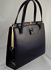 Lucille De Paris Leather Handbag - Classic