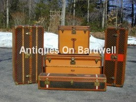 Louis Vuitton Trunk Group - Antiques on Bardwell