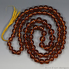 143.6 g!! A LONG STRING OF GENUINE NATURAL BALTIC AMBER