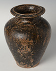 12th Century, Bayon period, Khmer Pottery Vase
