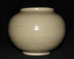 A plain Ding jar. Northern Song dynasty.
