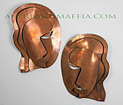 Rebajes Modernist Wall Masks - 1950
