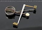 Peter Macchiarini Modernist Mixed Metals Brooch 1950