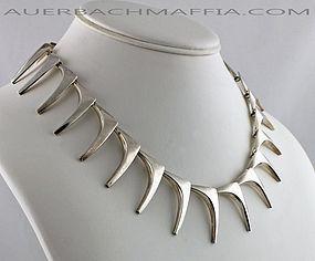 Eigel Jensen/Anton Michelsen Sterling Necklace Denmark