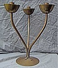 Hayno Focken Modernist Handcrafted Candelabra