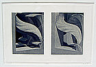 Hugh Kepets Architectural Post Modernist Print