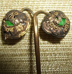 Qing Gilt hairpin