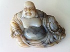 Chinese Soap stone Laughing Buddha