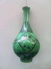 Chinese Green Glaze vase