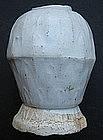 Late Sung Yuan White Glaze Vase