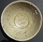 Sung Yuan Green Glaze Celadon Bowl