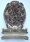 Bone Carving of Chinese Dragons