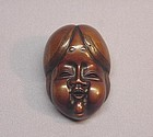 19TH C. JAPANESE CARVED WOOD NETSUKE