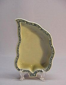 19th C. CHINESE BLUE & WHITE SERVING DISH
