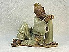Contemporary Chinese Shiwan Figure