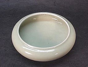 CHINESE EARLY 20TH CENTURY CELADON WATER BOWL