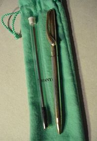 Peretti Sterling Ballpoint Pen ~ Tiffany & Co.