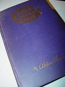 1st Ed Point Counterpoint~ Aldous Huxley~1928