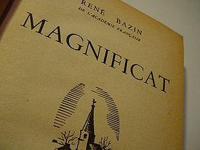 MAGNIFICAT ~Rene Bazin ~1931 ~HC