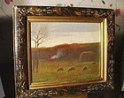 Sheep  Grazing~ Hiram Peabody Flagg (1859-1937)  O/C