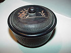 Japanese Treen Wooden Trinket Box
