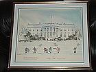 Rare Carter White House Print ~ Watson