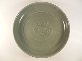 Ming Green Celadon Charger