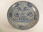 Ming Dynasty Blue & White Plate