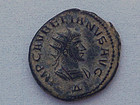 A ROMAN ANTONINIANUS OF AURELIAN AND VABALATHUS
