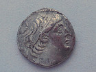 A SILVER TETRADRACHM OF ANTIOCHUS VII