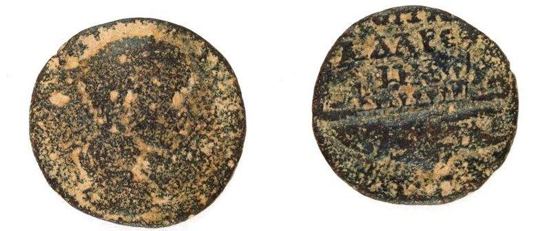 A BRONZE COIN OF GORDIAN III