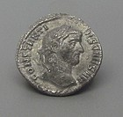 """A ROMAN SILVER ARGENTEUS OF CONSTANTIUS I """"CHLORUS"""""""