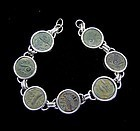 SIX PRUTOT OF THE PROCURATORS IN SILVER BRACELET