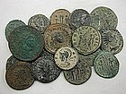 A Collection of 18 Ancient Roman Bronze Coins