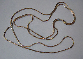 Long Chain of Rectangular Links, c. 1970