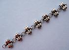 Mexican Sterling Link Bracelet, c. 1970