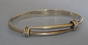 Ed Levin Sterling Men�s Bracelet, c. 1975