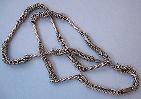 Sterling Chain Necklace, c. 1985