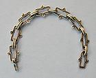 Mexican Sterling Open-Link Bracelet, c. 1960