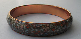 Matisse Copper and Enamel Bangle, c. 1965