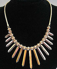 Gold-Plated Necklace by Krementz, c. 1945