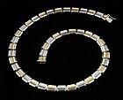 14K Bi-Color Gold Necklace